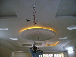 ceiling under construction