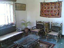 wooden handmade art ethnic style furniture