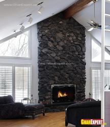 fireplace wall for living room