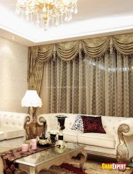 Rich and royal style drawing room
