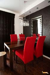 Stylish Hangings over Dining