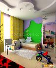 Decorate your kids room with bold and Jazzy colors
