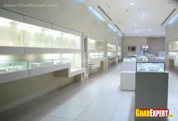 Jewelery showroom interior