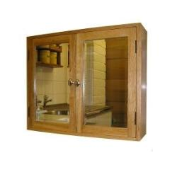 cabinet design with mirror on top for bathroom