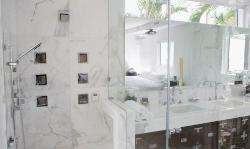 Trendy bathroom shower designs