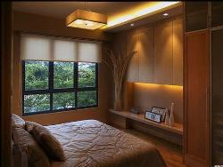 Lighting arrangement in Bedroom