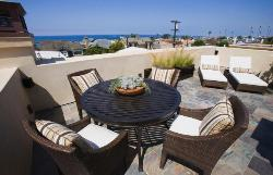 Wicker made outdoor patio furniture