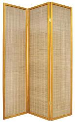 Bamboo Screen Room Divider