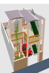22*50 feet house front elevation by shiv