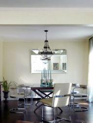 Chandelier over Dining Table