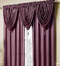 Curtains with valance