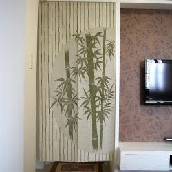 Chinese Bamboo Design Door Curtain