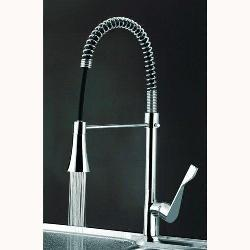 Single Handle Chrome LED Kitchen Faucet for Vanity Sink
