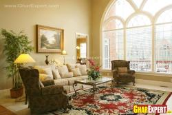 Traditional furniture for simple home