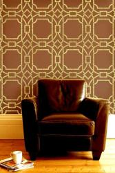vinyl wall stickers in coffee color tone