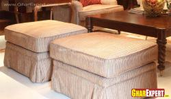 upholstered ottomans for living room