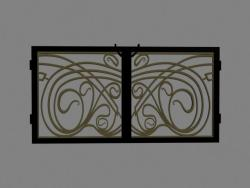 Main gate design in wrought iron