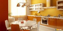 Small Dining in Kitchen