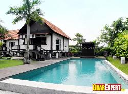 Elevation Design with Swimming Pool