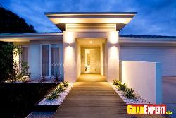 Elevation Design with Lighting Effect
