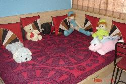 Corner Bed for kids room