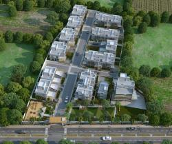 3D Residential Area Bird View Design