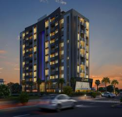 Exterior Cgi View Design Rendering For 3d Residental Appartment