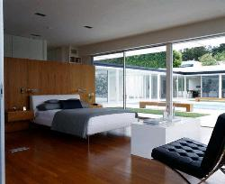 Sliding Door in Bedroom