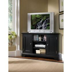Traditional TV unit for corner