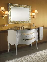 Antique style latest bathroom cabinets