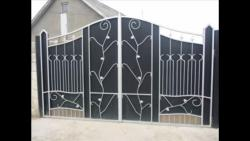 Main gate design in steel