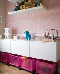 kids room paint ideas in pink