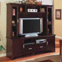 Entertainment wooden unit for TV in living room