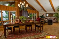 cottage house dining area