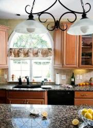 Kitchen Counter Tops & Lights