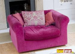 Sofa Design in Pink Color