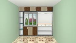 Sliding door wardrobe Inner view