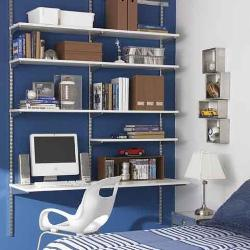 Space Saving Shelf in Bedroom