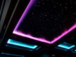 Fiber Optics Starry Interior Lighting