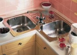 Kitchen Corner Sink
