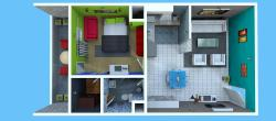 Single BHK Apartment