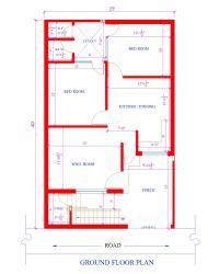 25 by 40 feet house plan