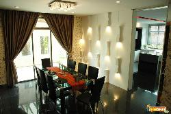 Decorative Wall Lights in Dining