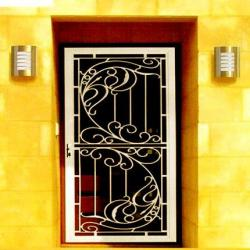 safety door stainless steel design