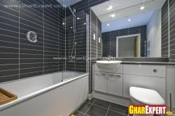 bathroom and modern fixtures in a bathroom