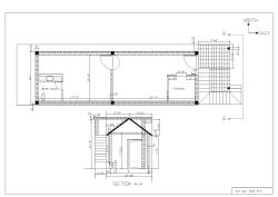 Tentative plan of house