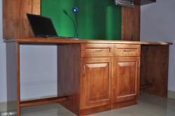 Study Table with Cupboards