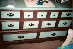 Dresser storage drawers style