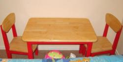 Kids table chair for playing in play shchool