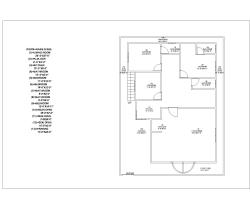 40 feet× 40 feet house plan